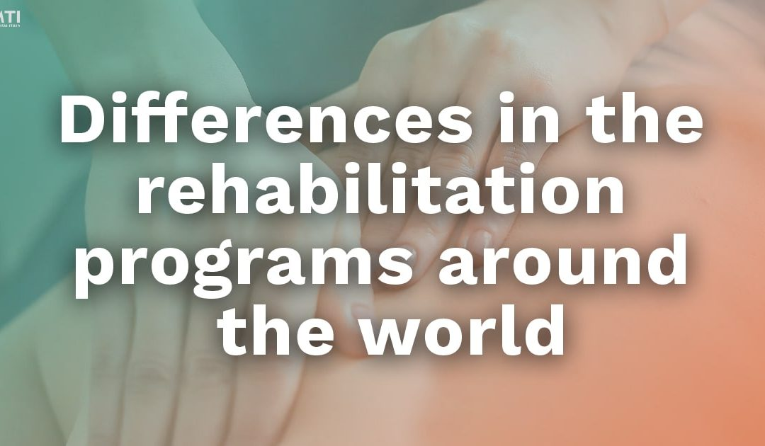 Differences in the rehabilitation programs around the world