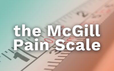 the McGill Pain Scale